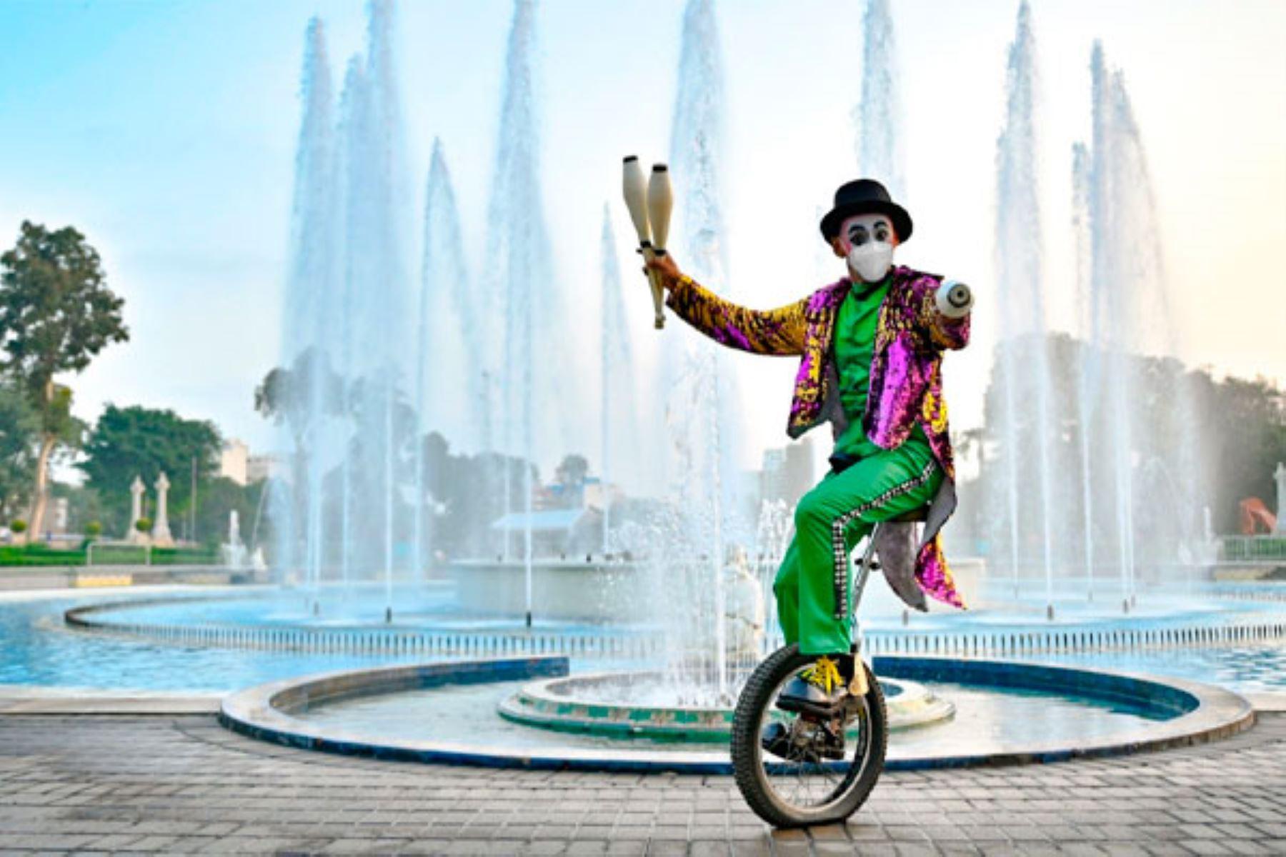 Fiestas Patrias: empieza temporada de circo en el Circuito Mágico del Agua
