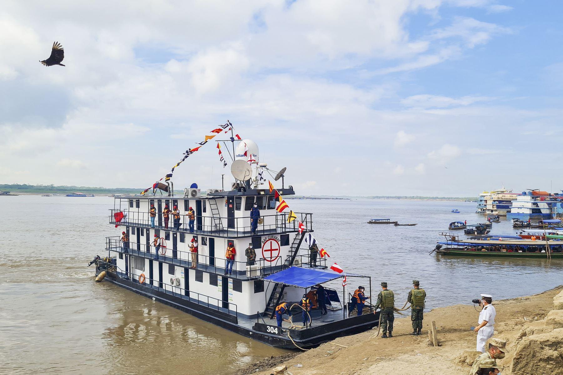 BAP Curaray acercará servicios a más de 7,000 pobladores en la cuenca del río Ucayali
