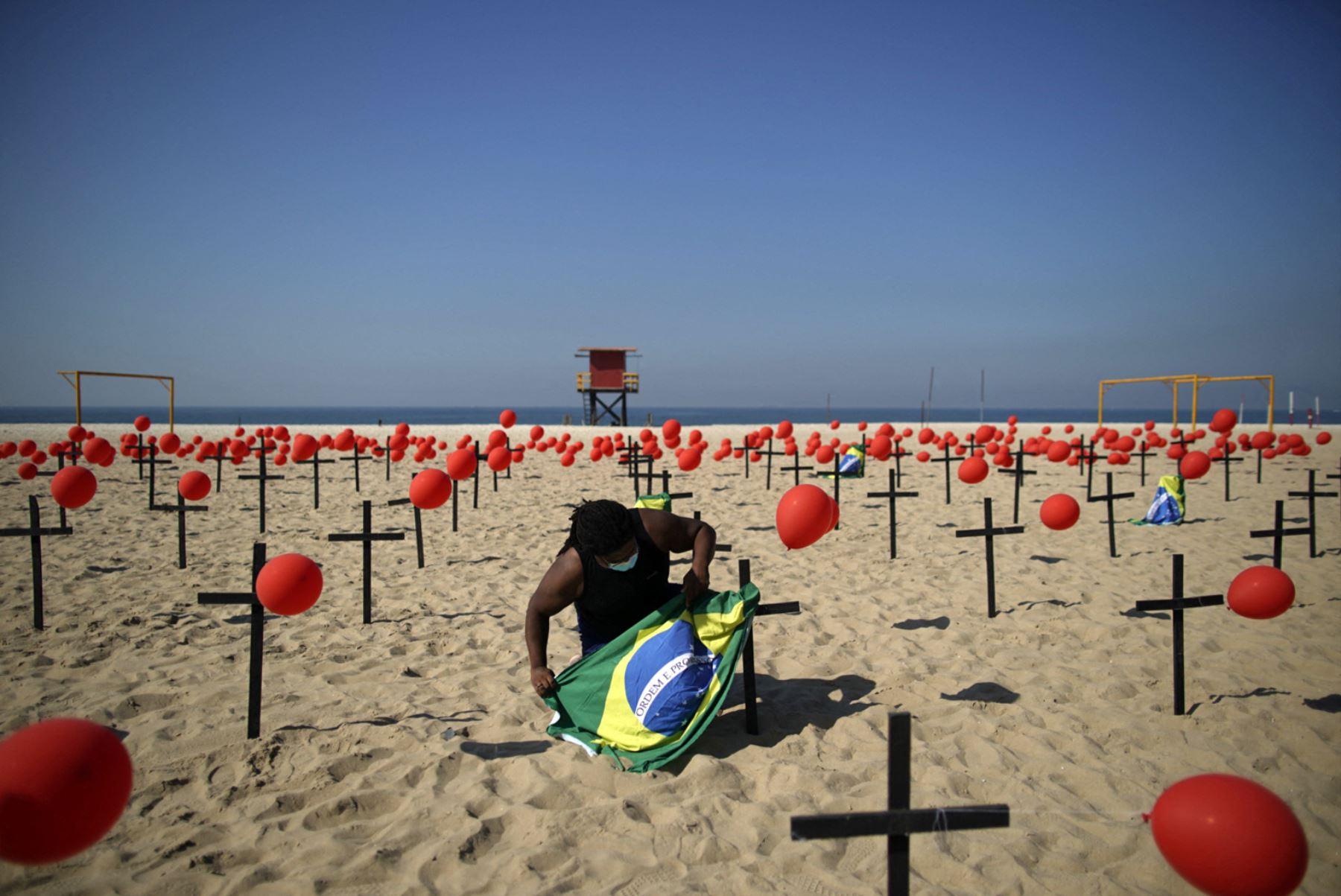 Brasil registra pérdidas por 73,000 millones de dólares en turismo por la pandemia