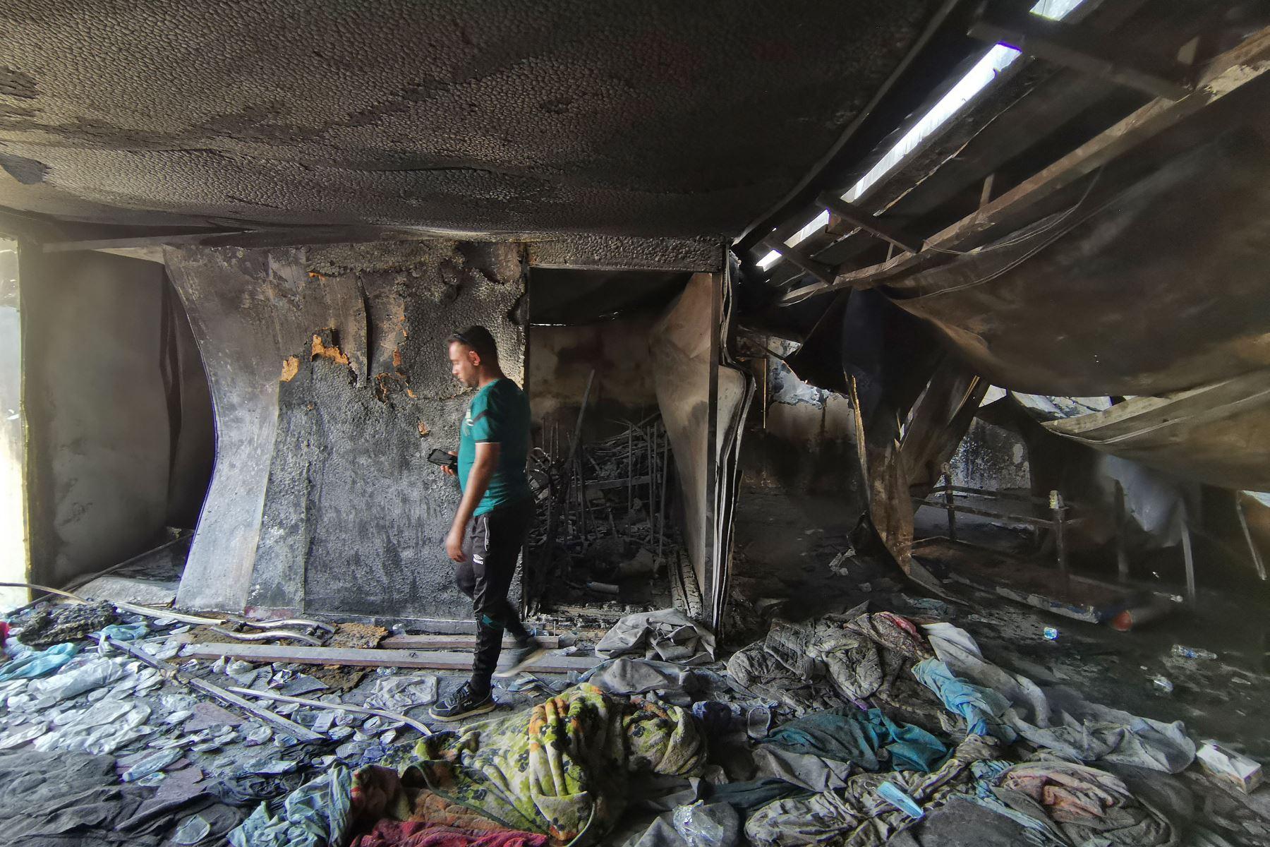 Perú expresa sus condolencias a Iraq por incendio ocurrido en hospital