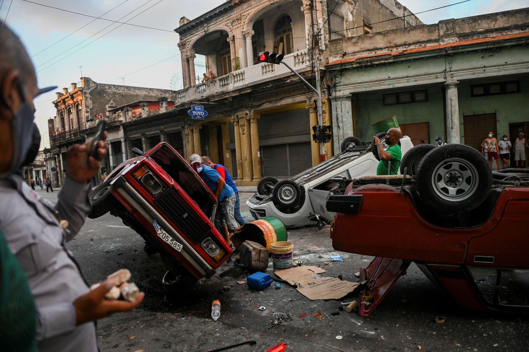 Hombre muere en protesta registrada en la periferia de La Habana