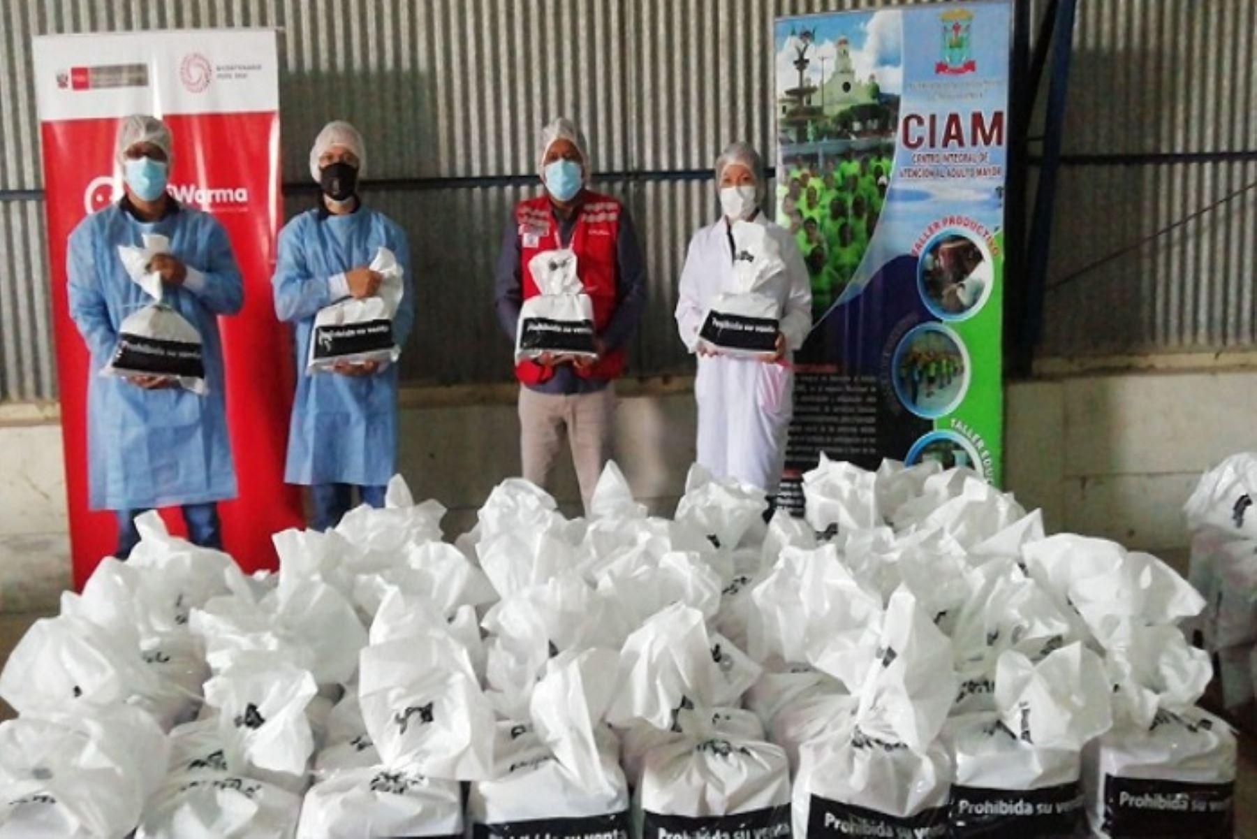 Qali Warma entrega más de 13 toneladas de alimentos a municipio de Moyobamba