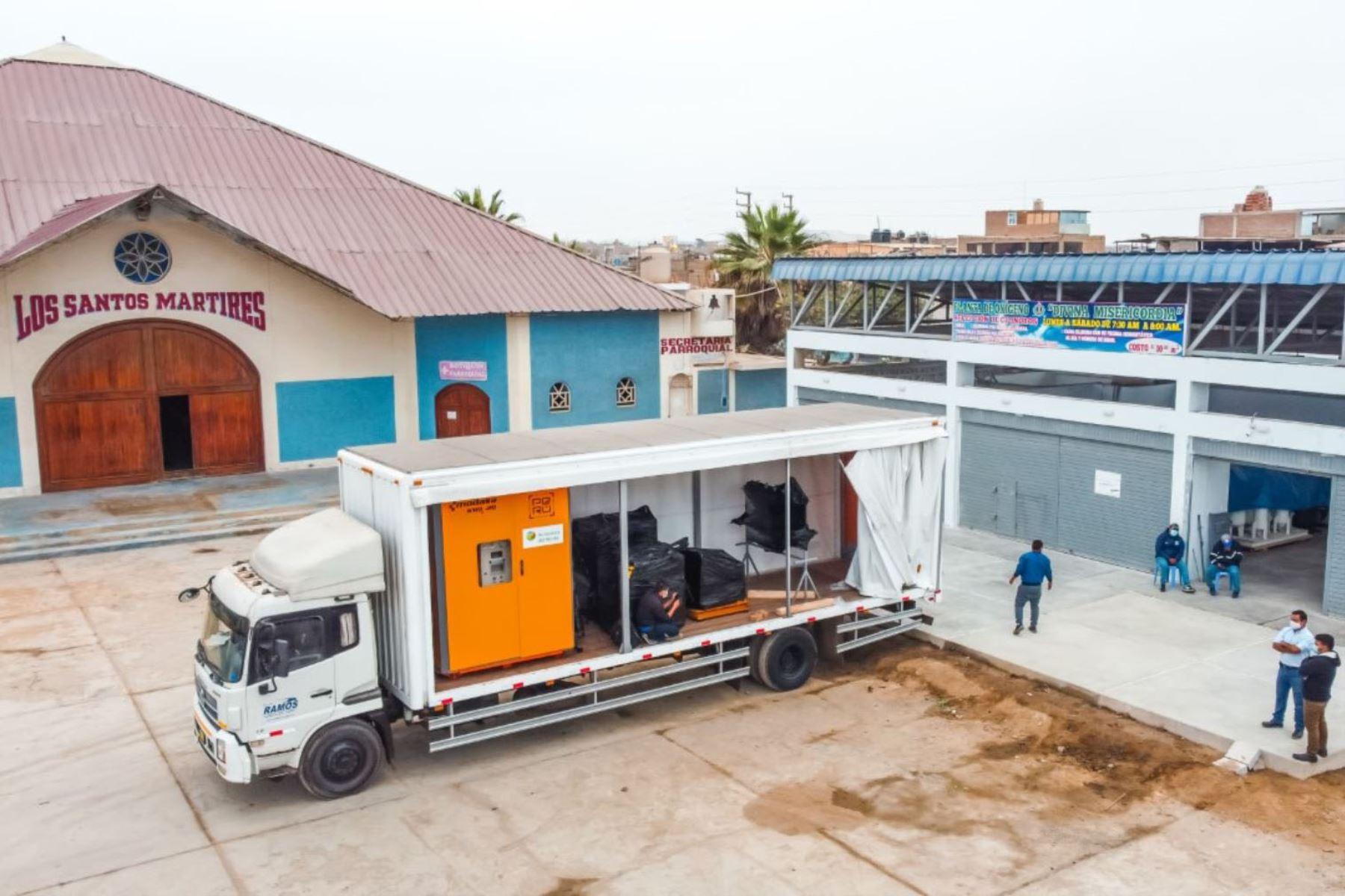 Chimbote: Diócesis tendrá una planta de oxígeno donada por empresa constructora privada