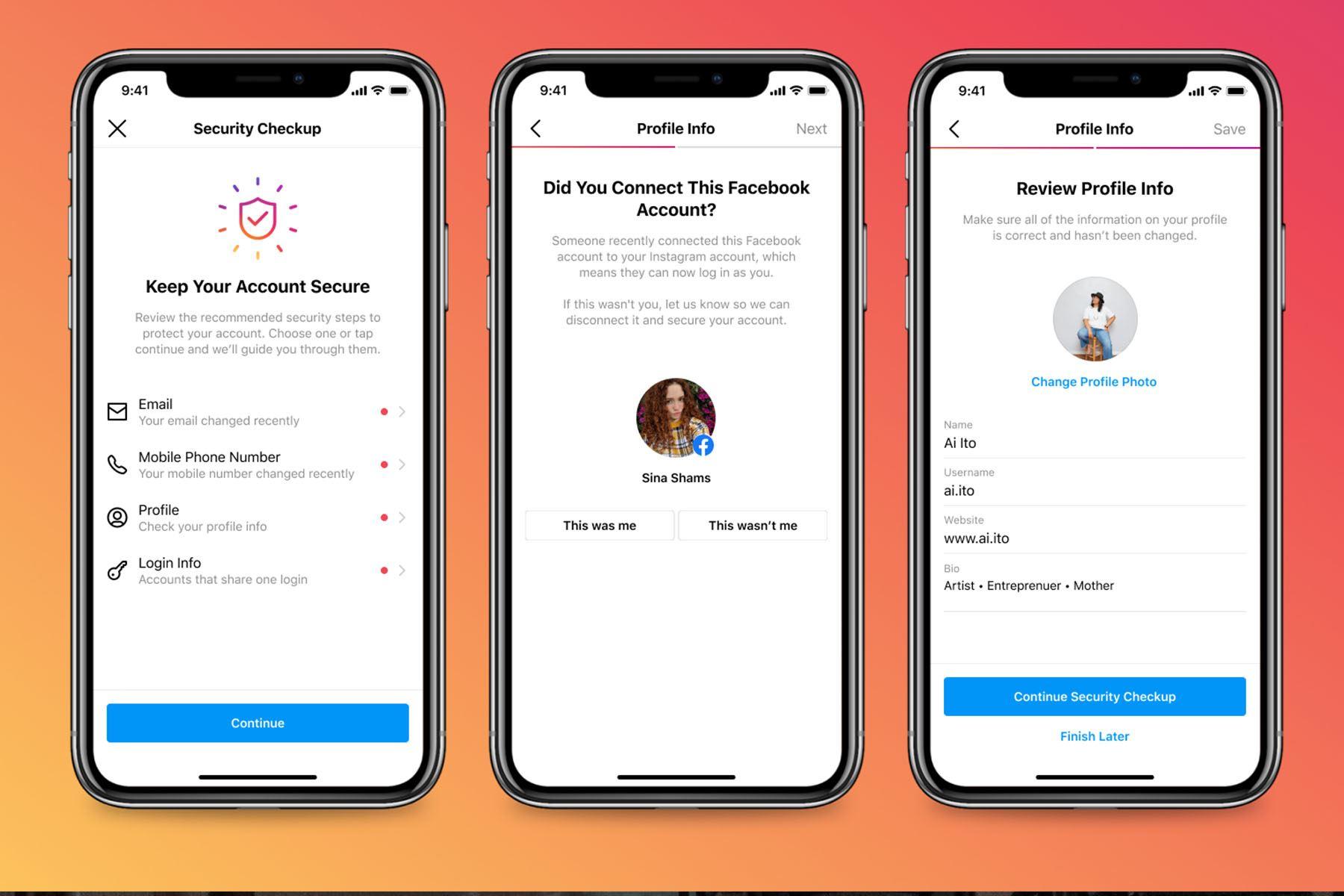 Security Checkup: Instagram lanza nueva función para mantener seguras las cuentas