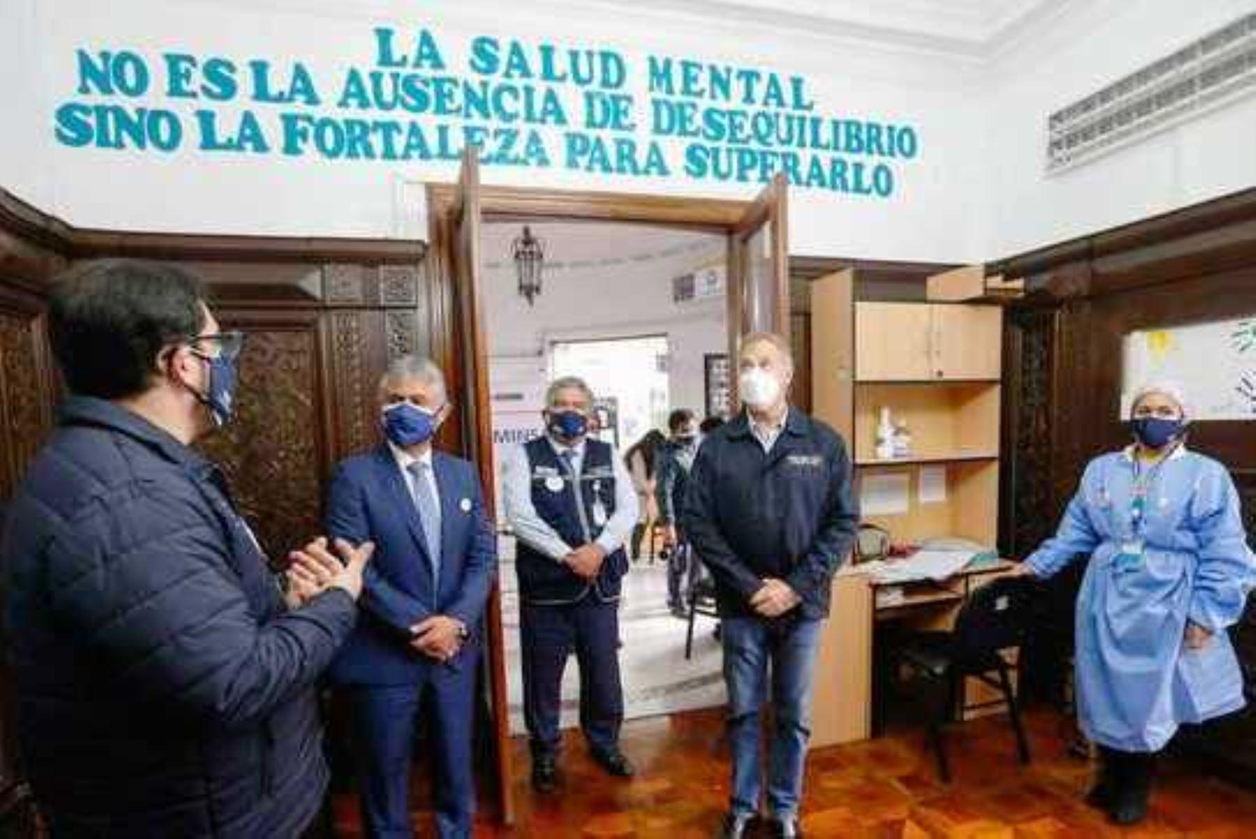 Minsa inaugura Centro de Salud Mental Comunitario en Santa Beatriz