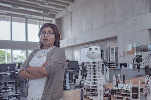 Dra. Ruth Canahuire es directora de Ingeniería Mecatrónica de la Universidad de Ingeniería y Tecnología (UTEC). Foto: Cortesía/Andina.