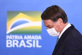 Jair Bolsonaro, presidente de Brasil. Foto: AFP