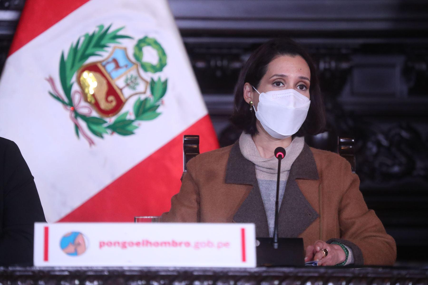 Ministra de Comercio Exterior y Turismo, Claudia Cornejo. ANDINA/Difusión