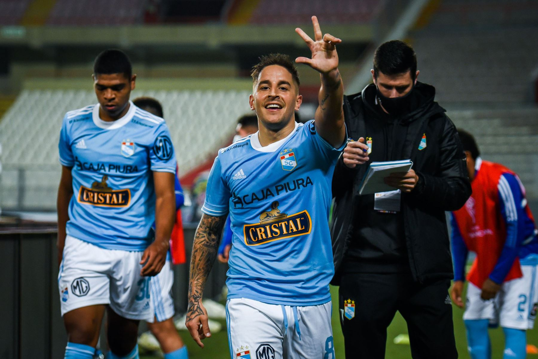 El ganador se medirá con el vencedor de la llave entre los uruguayos Peñarol y Nacional, que jugarán el jueves. Foto: @ClubSCristal.