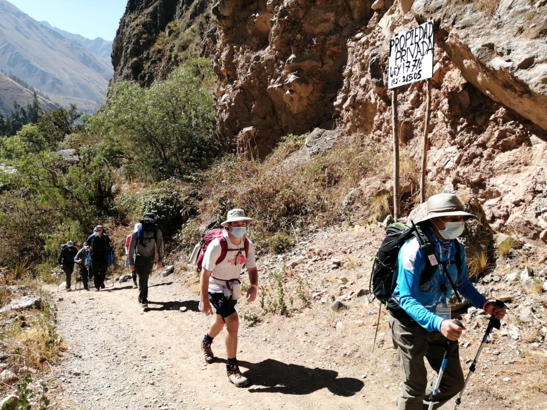 Cusco: así se desarrolló la esperada reapertura del Camino Inca a Machu Picchu [video]