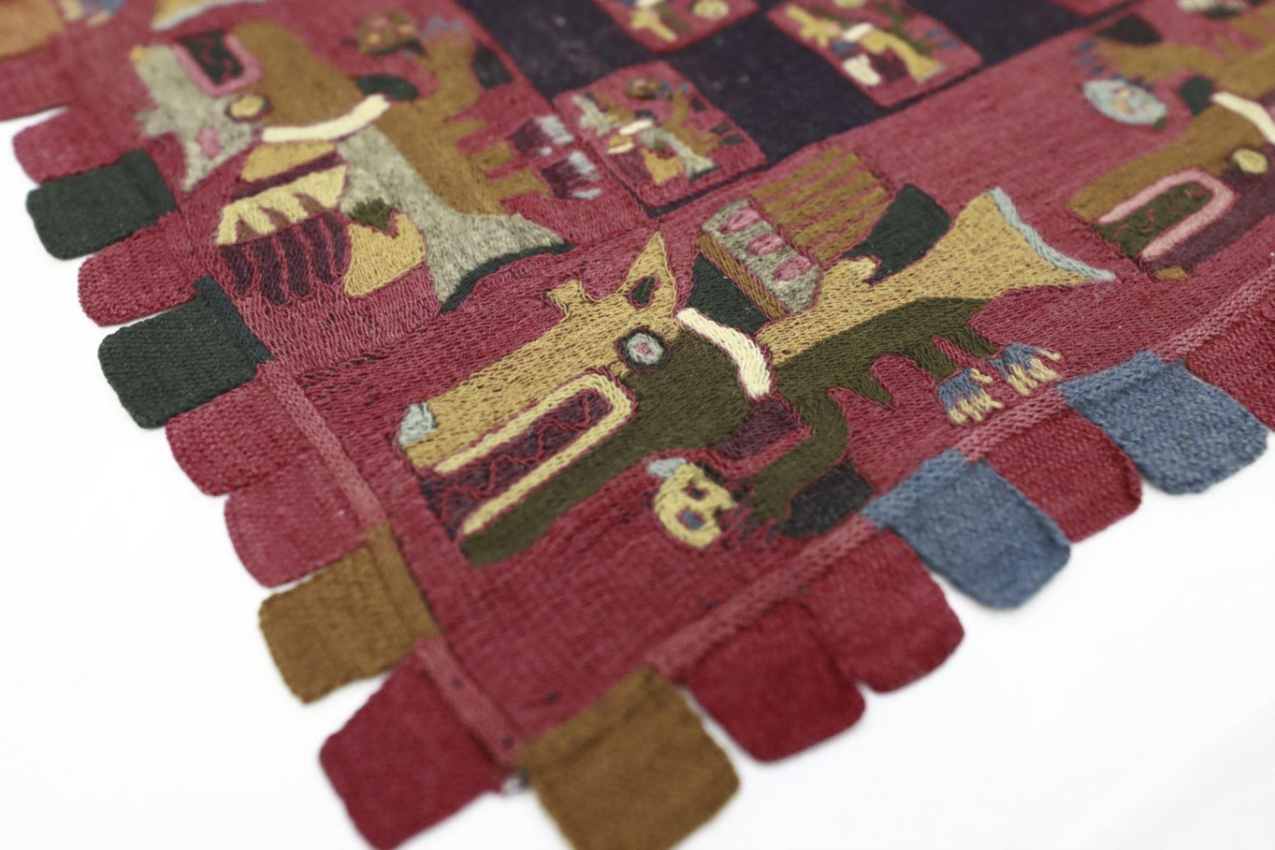 Valiosos textiles Paracas hallados por Julio C. Tello regresan al Perú tras 90 años