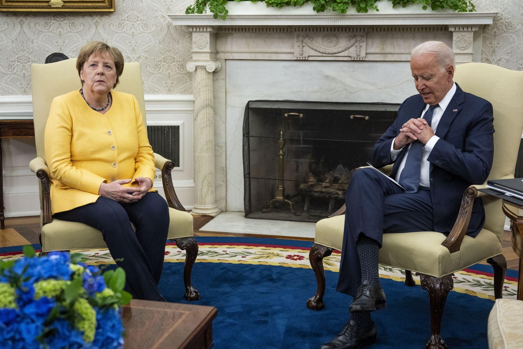 Las mortales inundaciones en Alemania empañan despedida de Merkel de la Casa Blanca