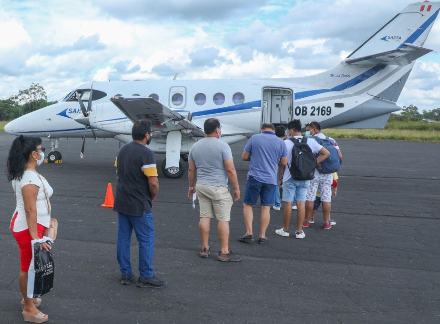 MTC subsidió desde 2018 a la fecha 76,717 pasajes aéreos para residentes de la Amazonía