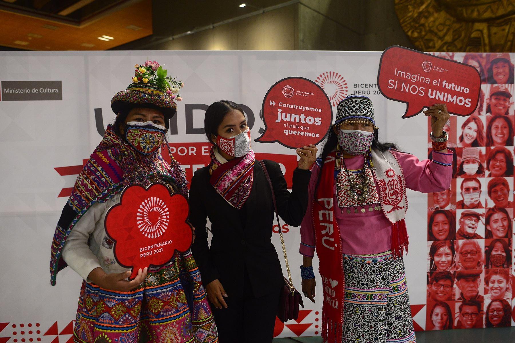 """Campaña """"Unidos por el Bicentenario"""": así se rendirá homenaje al Perú"""