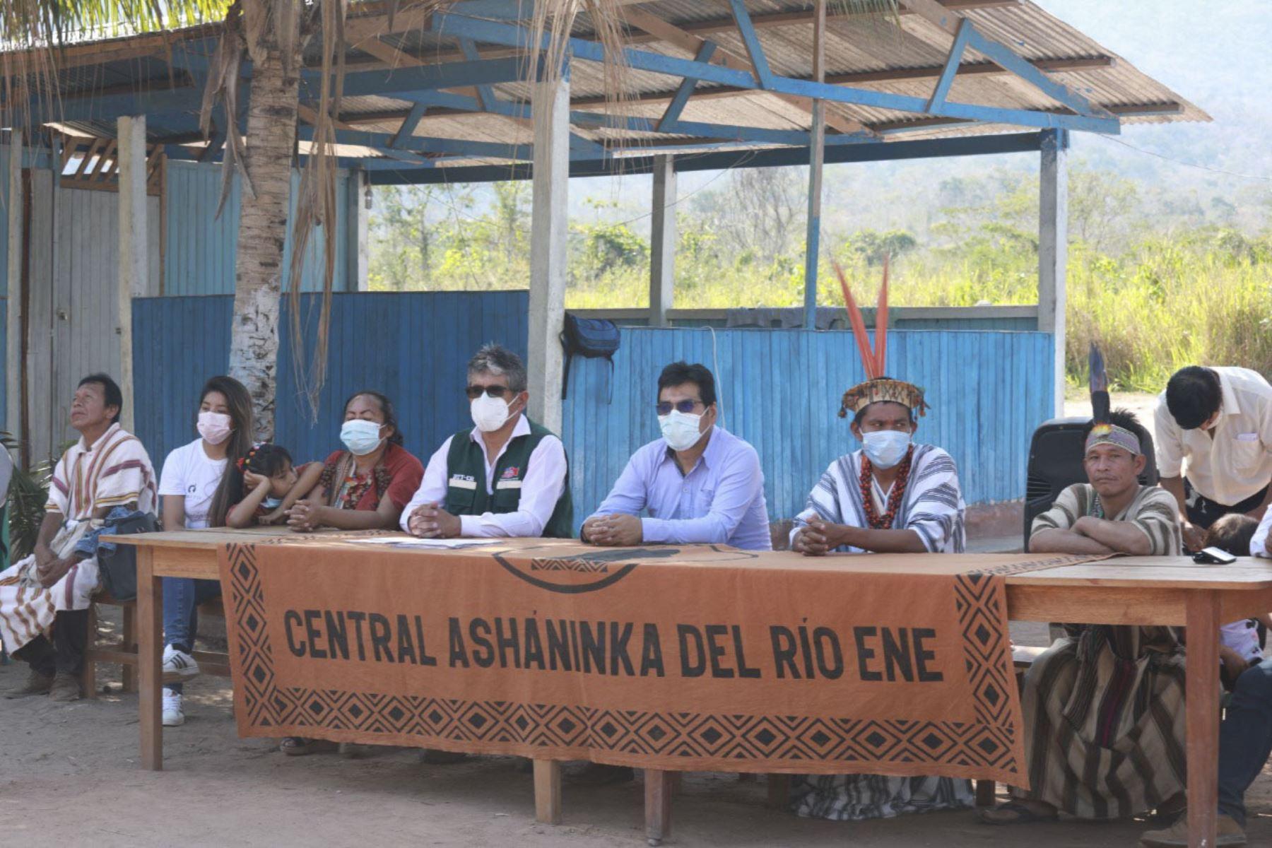 Junín: comunidad indígena Osherato recibe título de propiedad