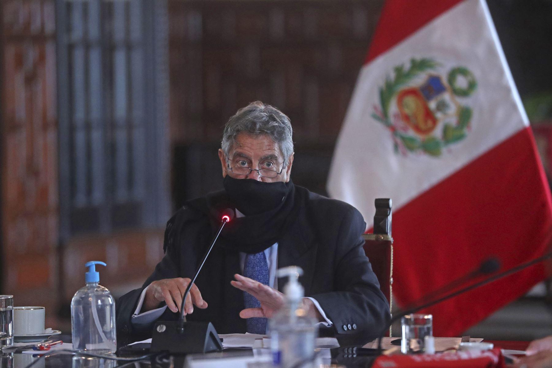 Presidente Sagasti: Comunidad Andina debe asegurar la libre movilidad