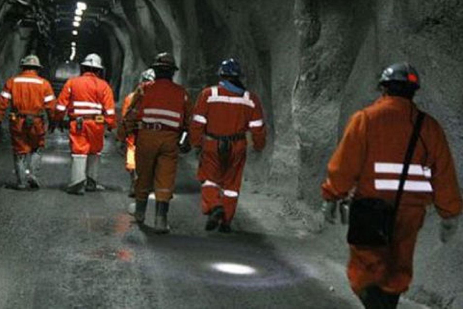 Minem: Empleo generado en minería es superior en 8% al que había antes de la pandemia