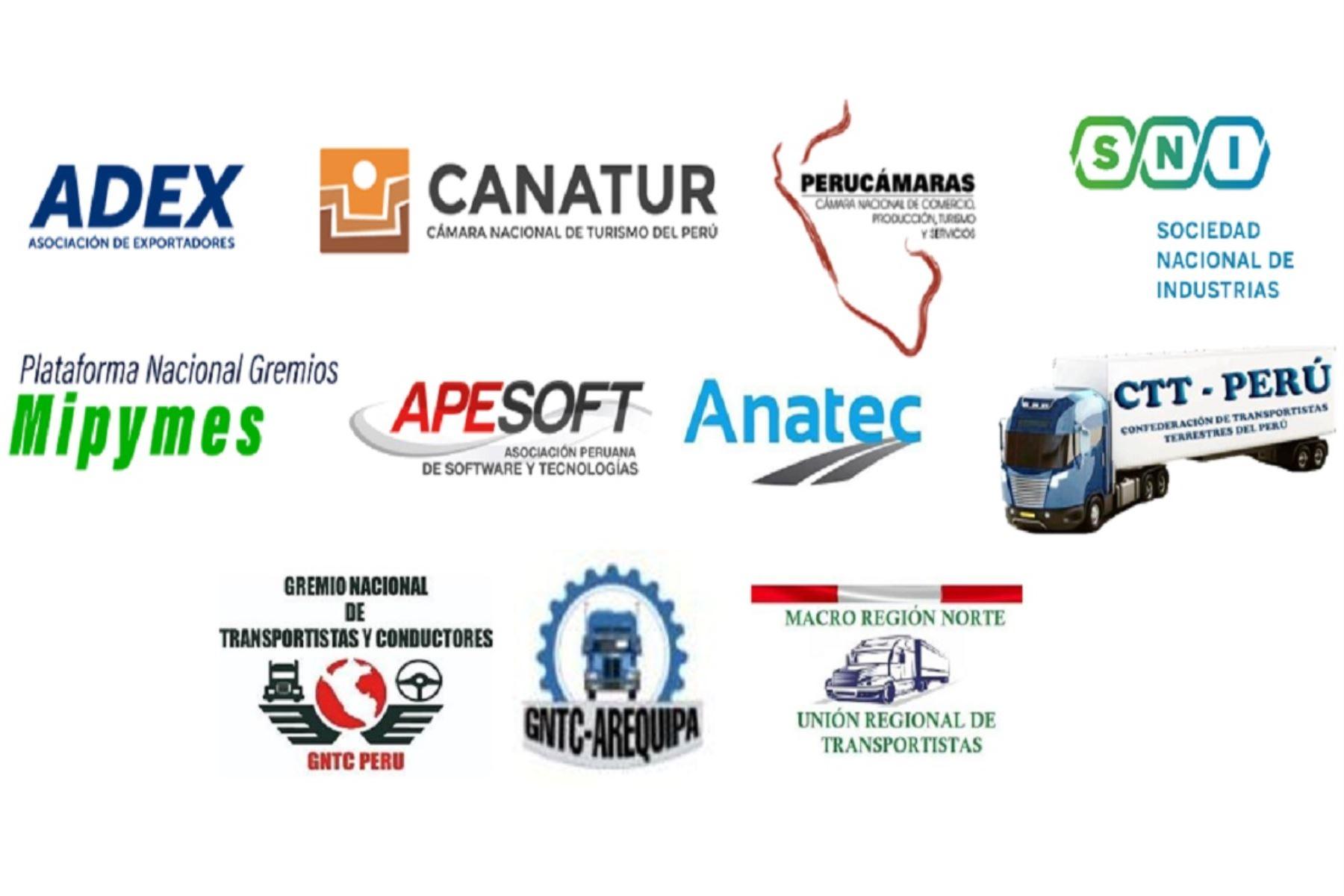 Gremios empresariales constituyen la Unión de Gremios del Perú
