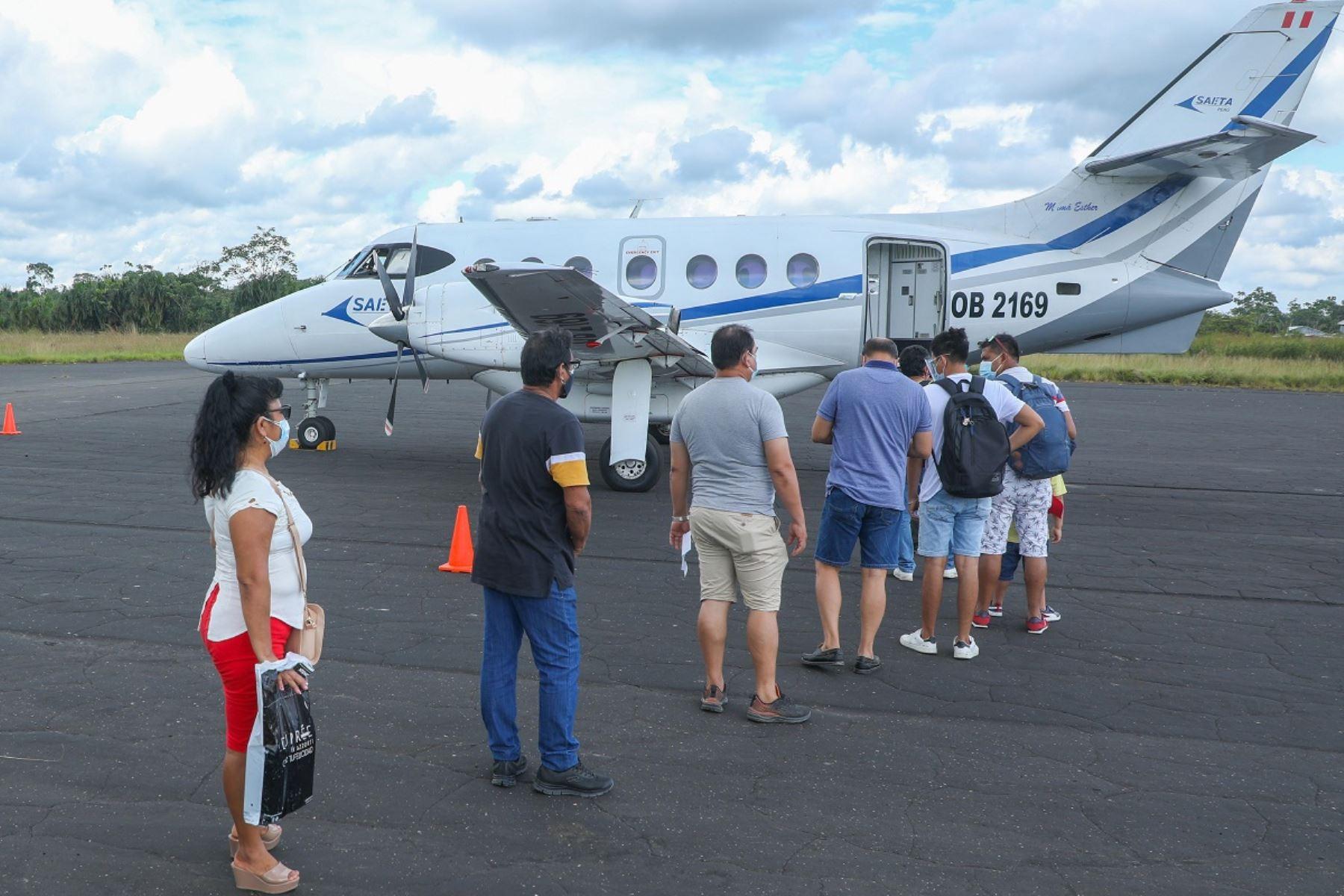MTC subsidió más de 101,000 pasajes aéreos para residentes de la Amazonía