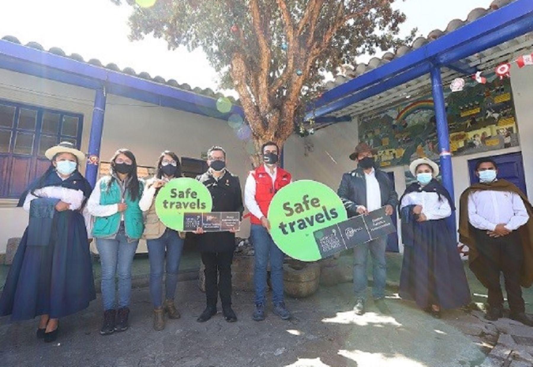 ¡Reactivación turística! Destino Huancavelica obtuvo el sello internacional Safe Travels