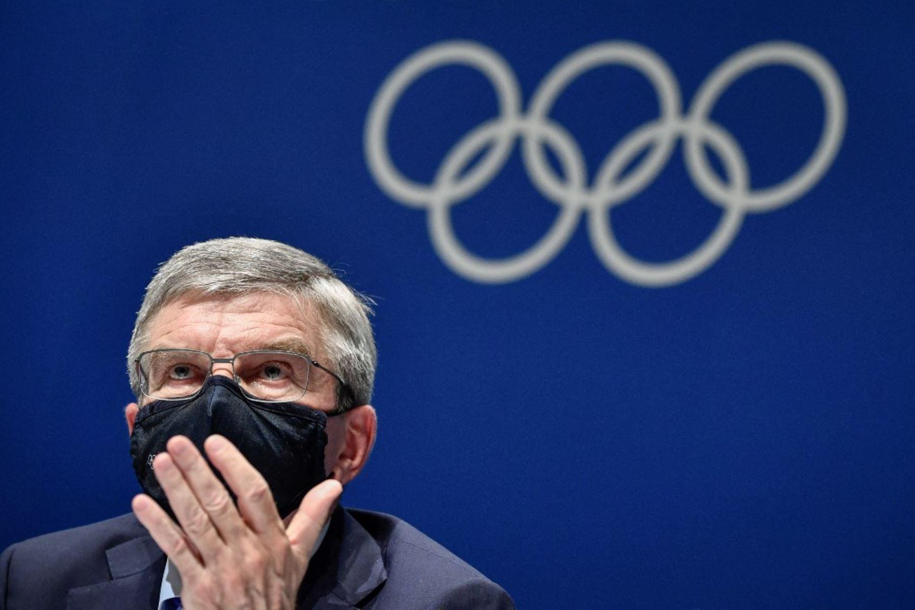 """Presidente del COI pide a japoneses \""""apoyar\"""" a deportistas en Tokio 2020"""