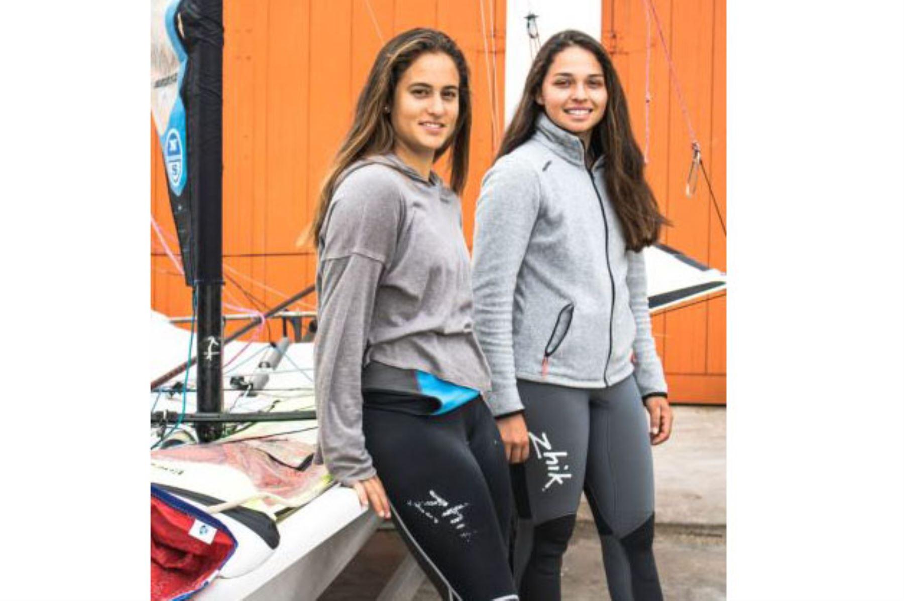 Diana Tudela, clasifica a los Juegos Olímpicos de Tokio en  Vela modalidad 49er Fx. Foto: ANDINA/ Difusión