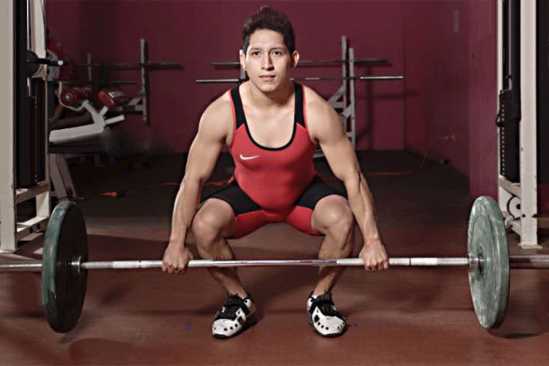 El pesista, Marco Rojas clasifica a los Juegos Olímpicos de Tokio 2020. Foto: Andina/ Difusión