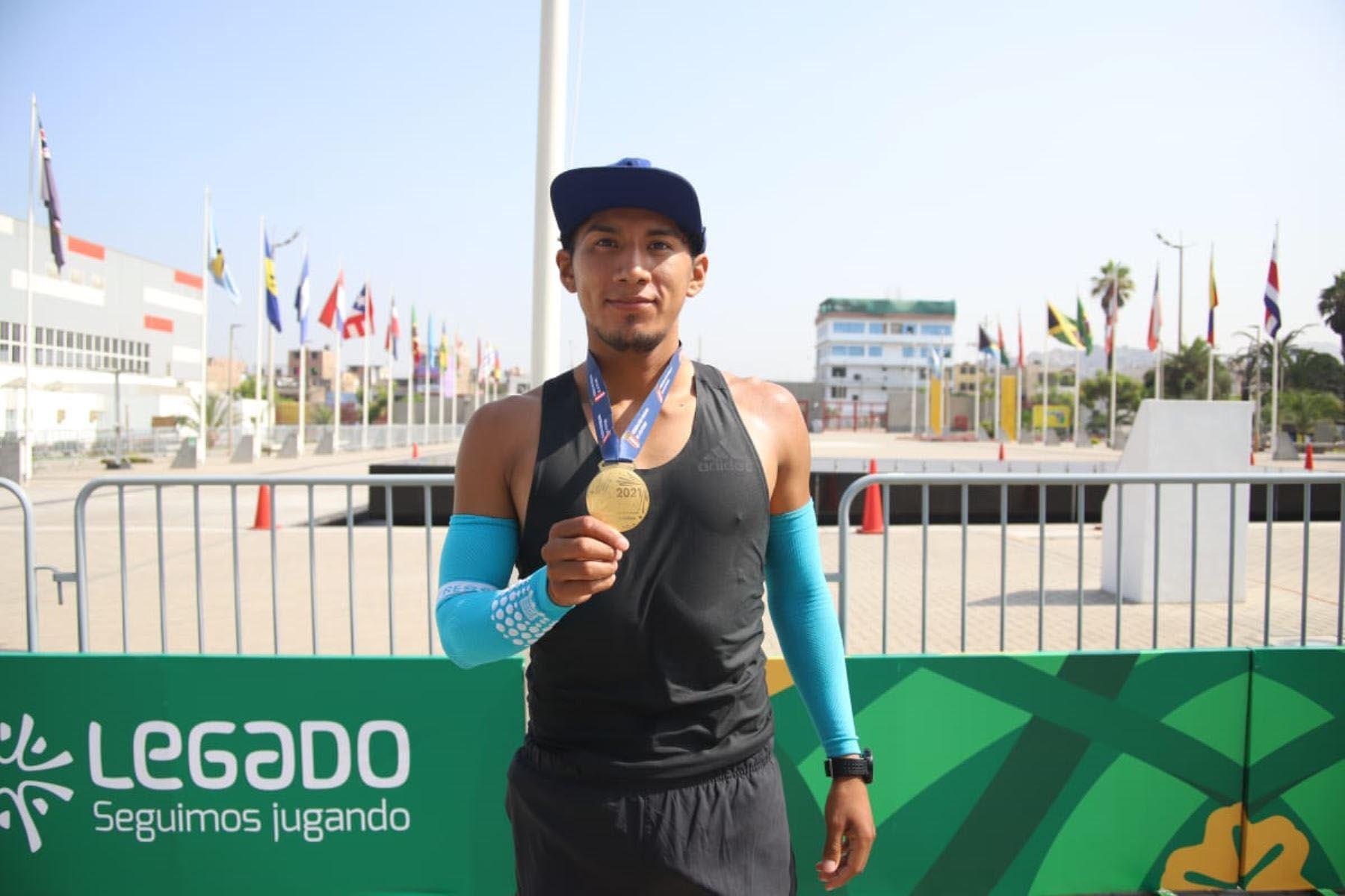 El marchista César Rodríguez logró su cupo a los Juegos Tokio 2020. Foto: Legado
