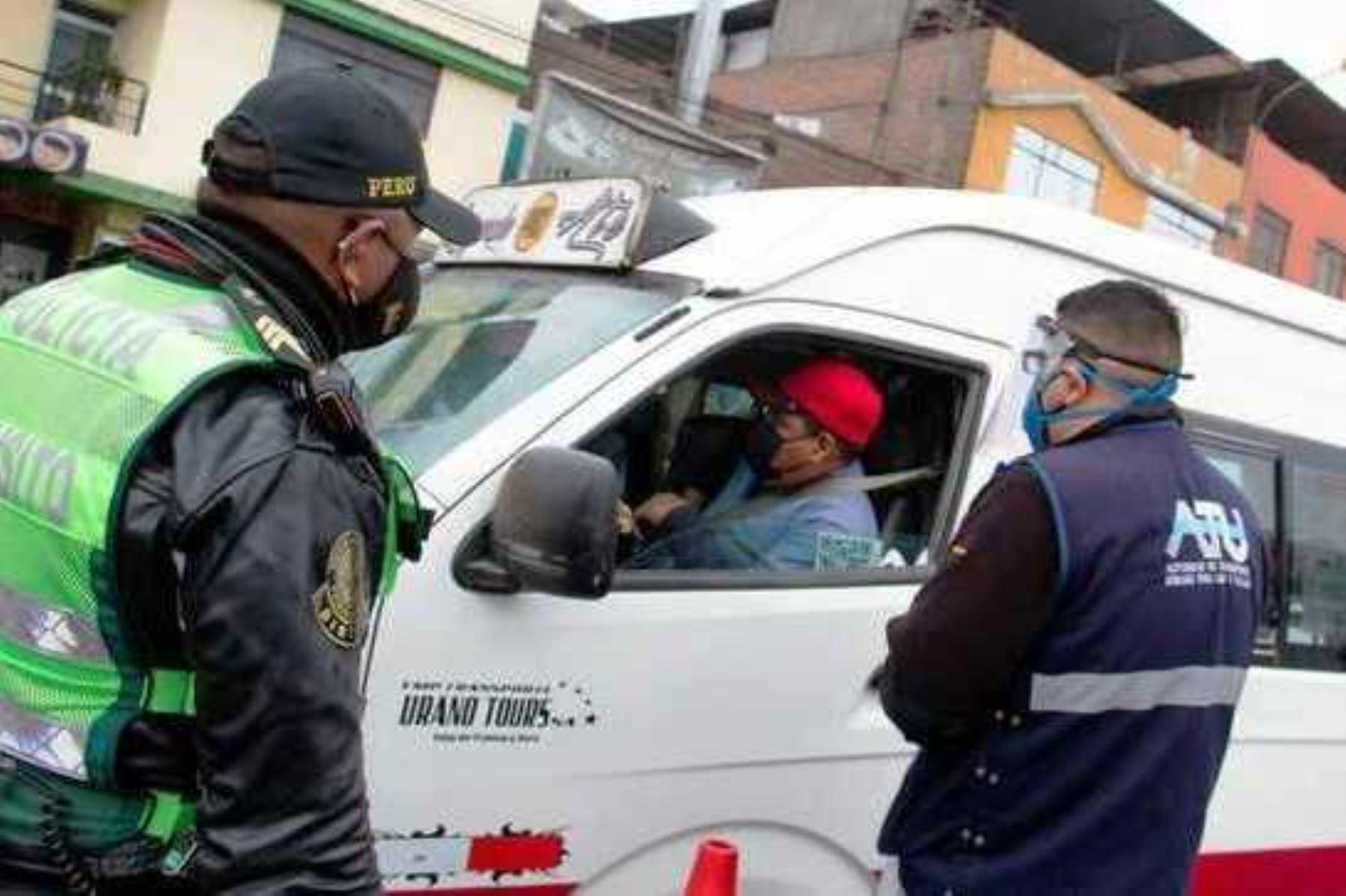 Fiestas Patrias seguras: ATU y Policía realizan megaoperativos contra la informalidad