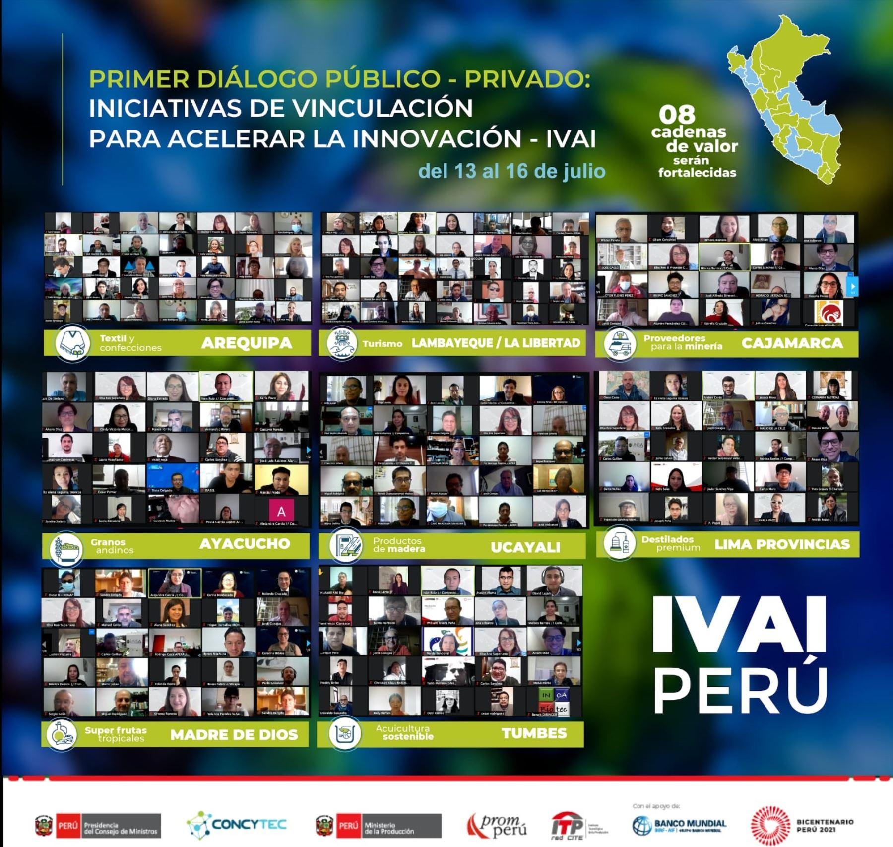 Diálogos para agilizar innovación en varias regiones reunió a más de 400 asistentes