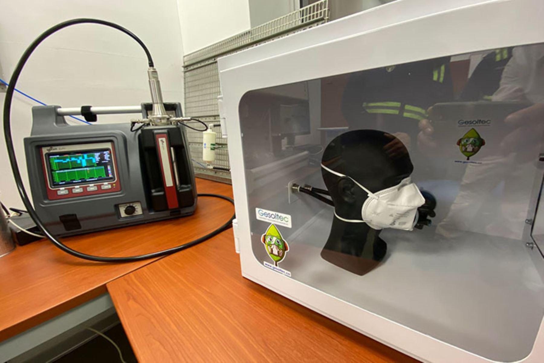 Covid-19: PUCP cuenta con moderno equipo que evalúa calidad de mascarillas y respiradores