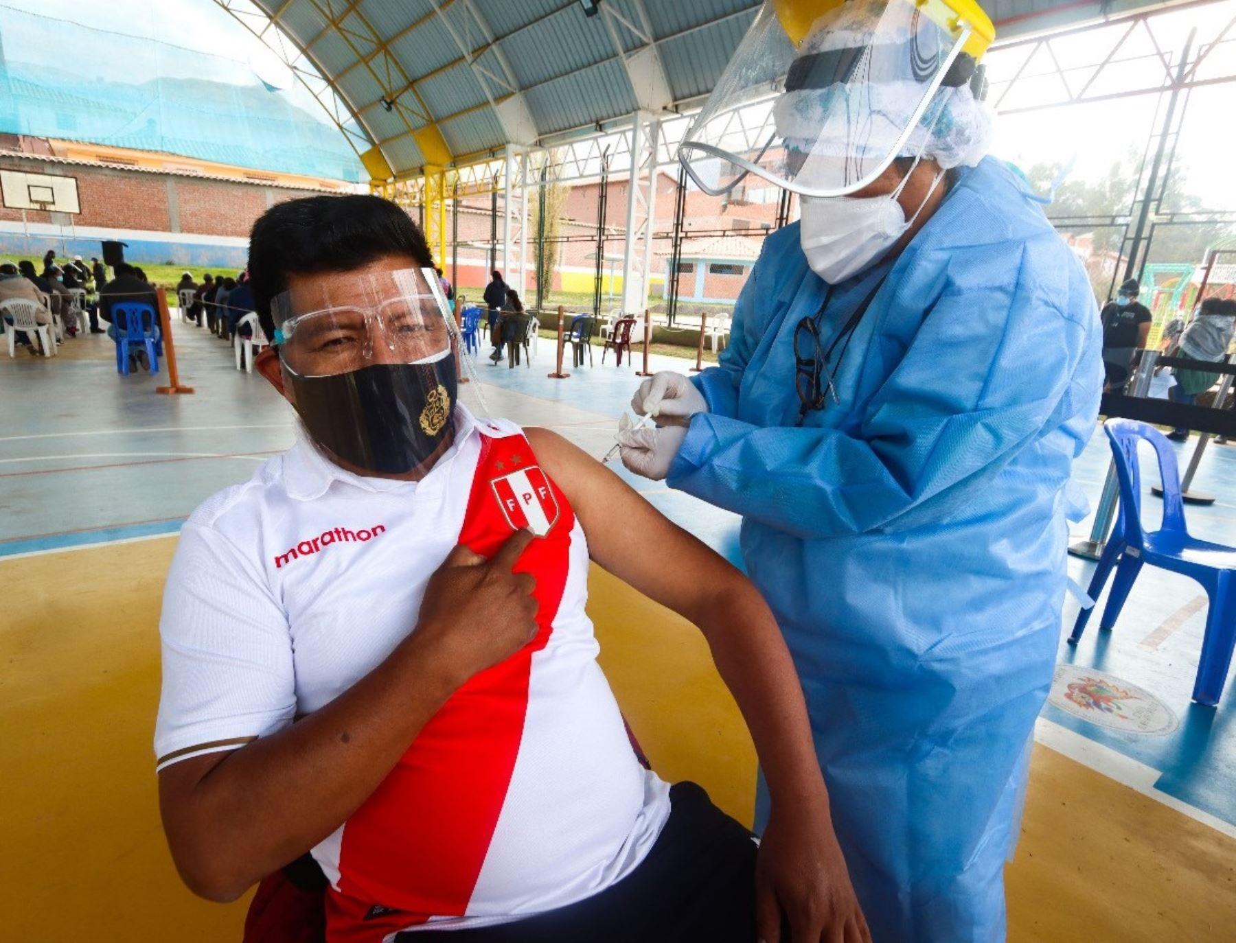 Vacunatón en Cusco atendió a más de 47,300 personas mayores de 40 años, ellas recibieron la vacuna contra la covid-19.Foto: ANDINA/Difusión.