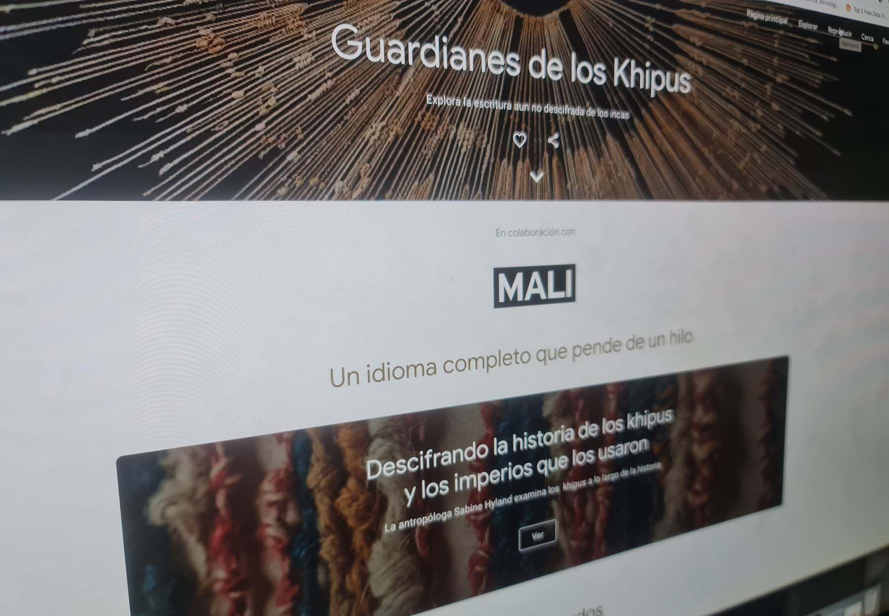 En la actualidad, se conservan unos 1000 khipus que están distribuidos entre colecciones privadas y museos de todo el mundo.