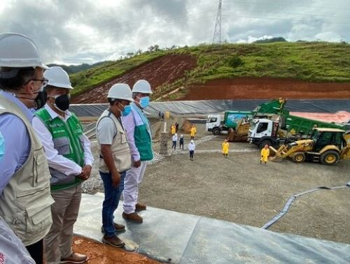 Ministerio del Ambiente (Minam) inauguró una nueva infraestructura para la disposición final de residuos sólidos en la provincia de Leoncio Prado-Tingo María, región Huánuco. ANDINA/Difusión