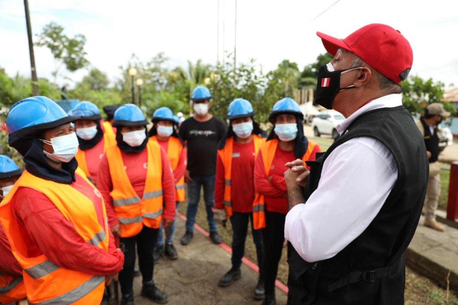 San Martín: obras de Trabaja Perú generarán más de 9,000 empleos temporales