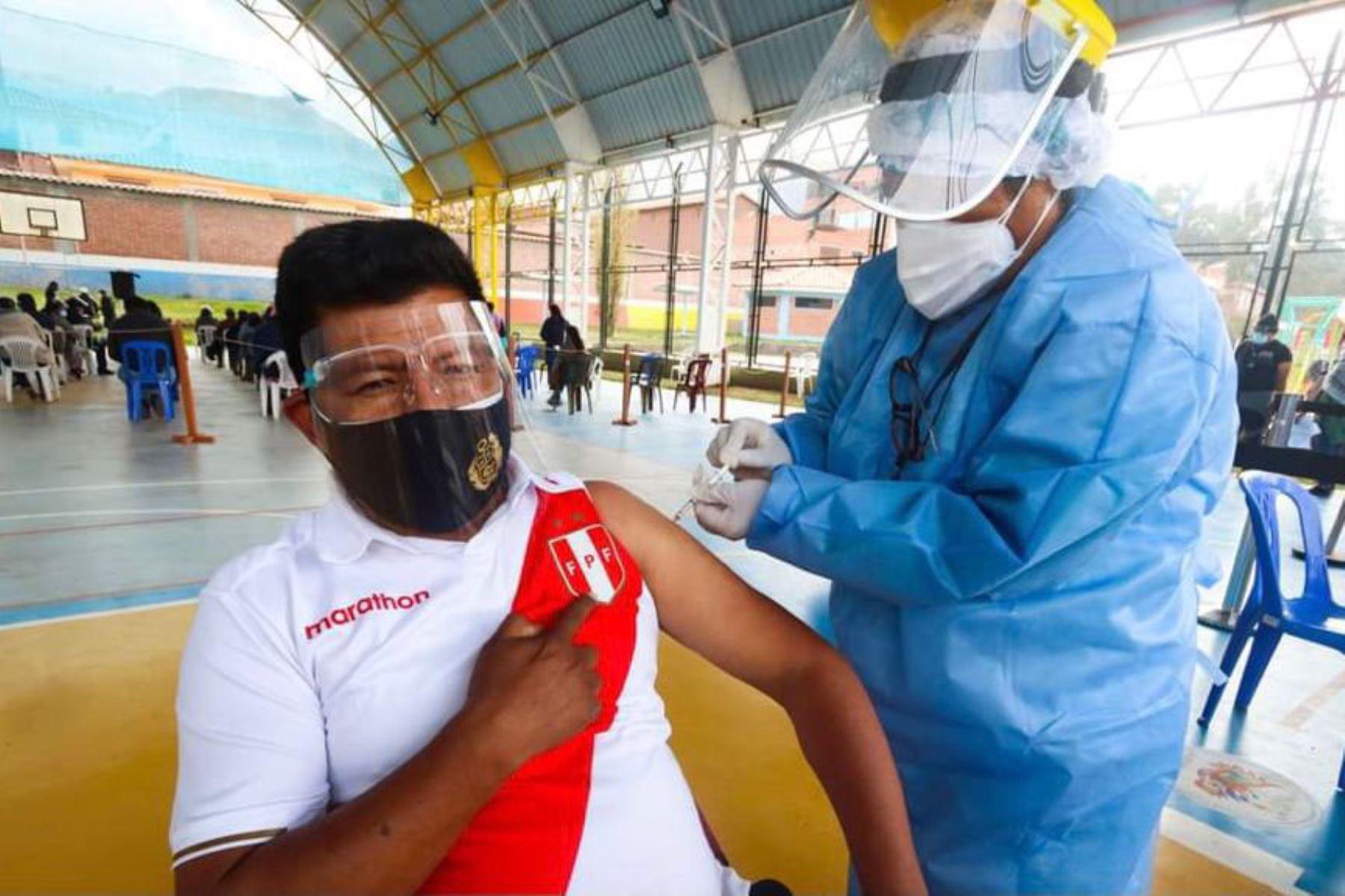 La respuesta de la población de Tumbes, Cusco e Ica durante la vacunatón, desarrollada el fin de semana, fue positiva. Foto: ANDINA/Difusión