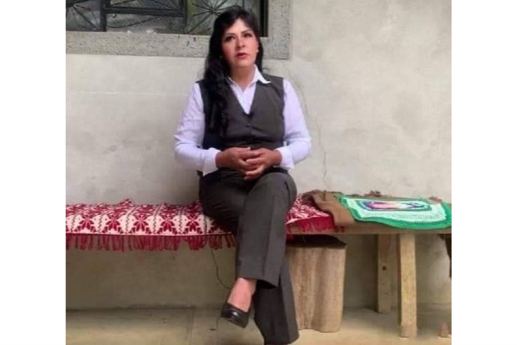 Lilia Paredes: apoyaré a mi esposo Pedro Castillo en todo lo que esté a mi alcance