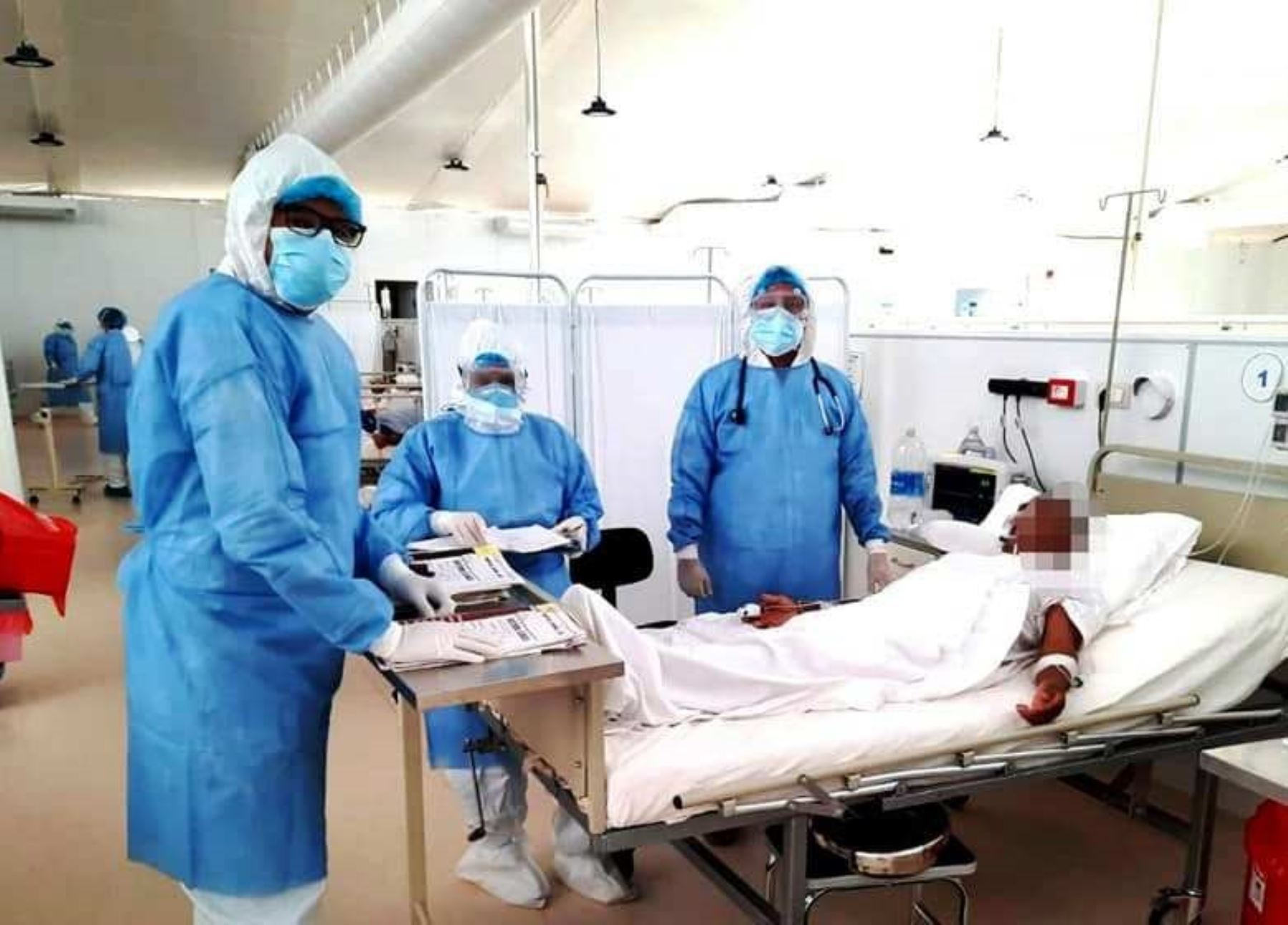 Cajamarca no reporta fallecidos por covid-19 por segunda vez en lo que va de julio. También reporta un descenso de contagios por esta enfermedad. ANDINA/Difusión