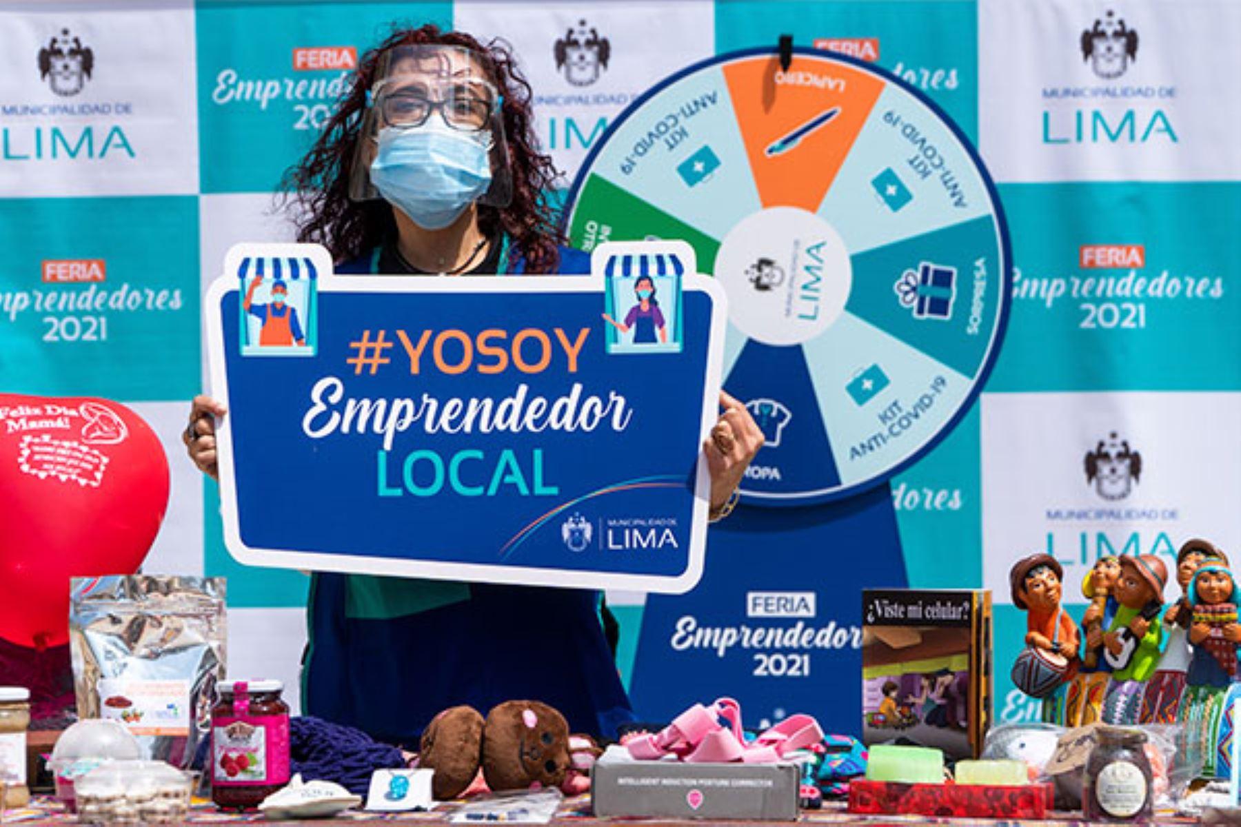 Cerca de 90 emprendedores ofrecerán alimentos envasados, artesanías, ropa de invierno, accesorios, zapatos, artículos para hacer deporte y más. Foto: ANDINA/MML.