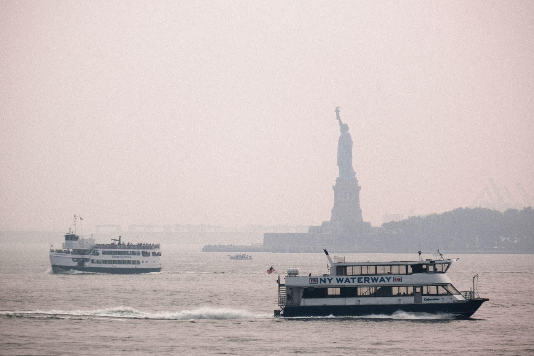 Alerta de contaminación en Nueva York por humo de incendios en EE. UU. y Canadá