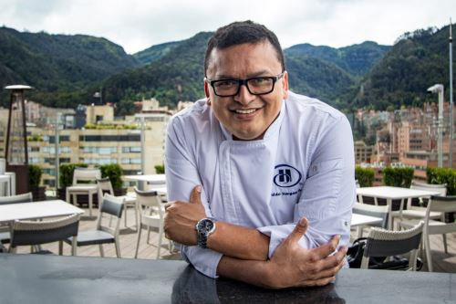 Chef peruano Aldo Vargas Morquencho.Foto: Andina/ Difusión