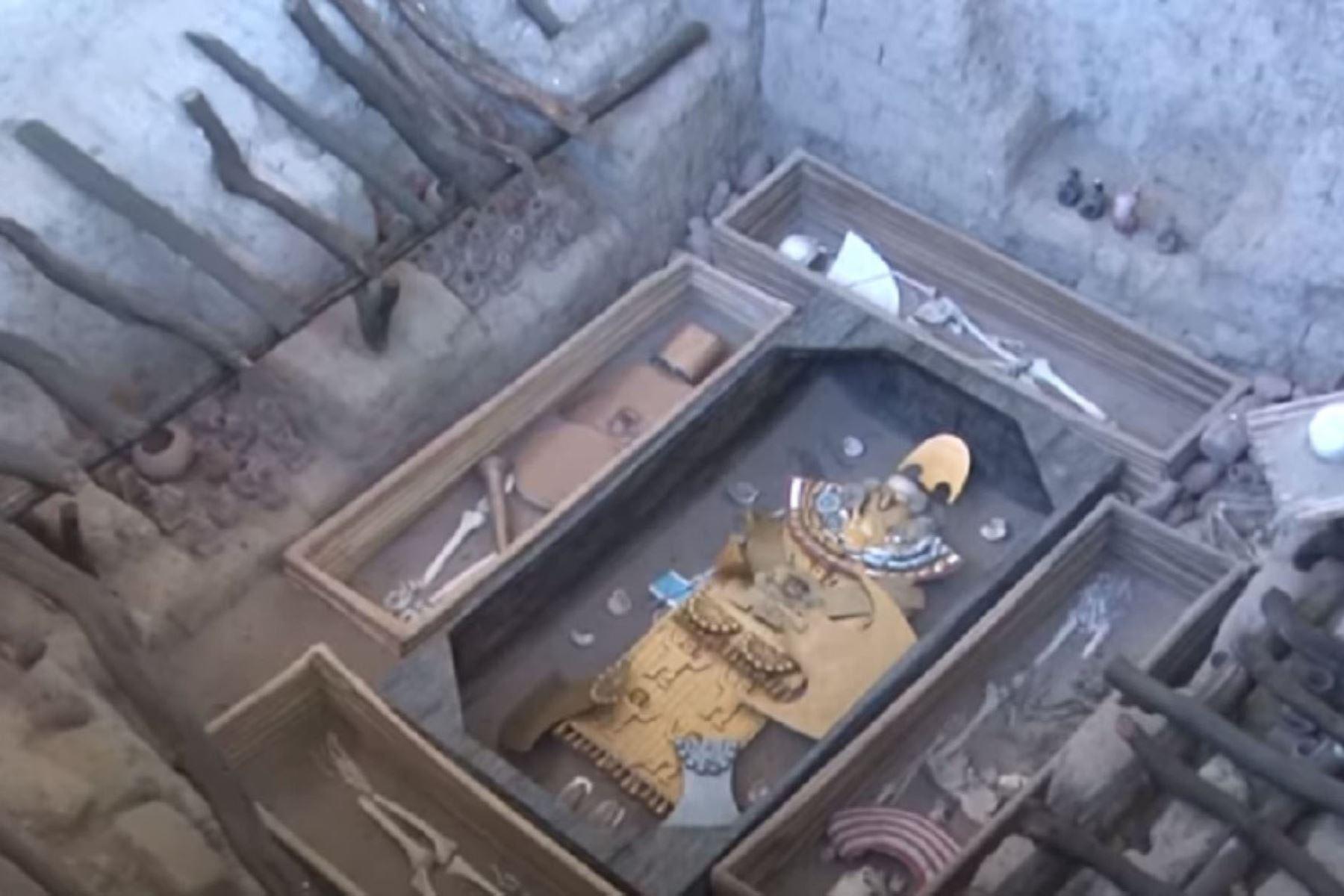 Un día como hoy, hace 34 años, se produjo en Lambayeque el hallazgo de la Tumba del Señor de Sipán, lo que significó un hito trascendental para la arqueología mundial, solo comparado con el hallazgo de la tumba del faraón egipcio Tutankamón a inicios del siglo XX. Foto: ANDINA/Difusión.