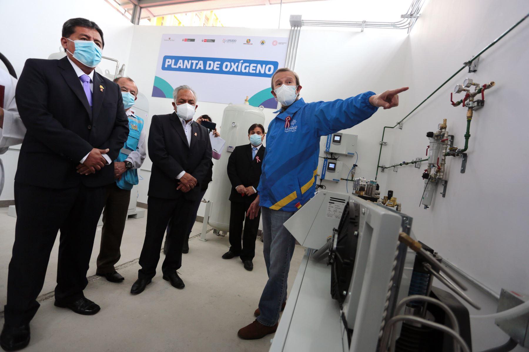 Los modernos equipos, traídos de Francia, cuentan con mantenimiento garantizado por un año, de acuerdo a las contrataciones gestionadas por el Proyecto Legado. Foto: ANDINA/Difusión