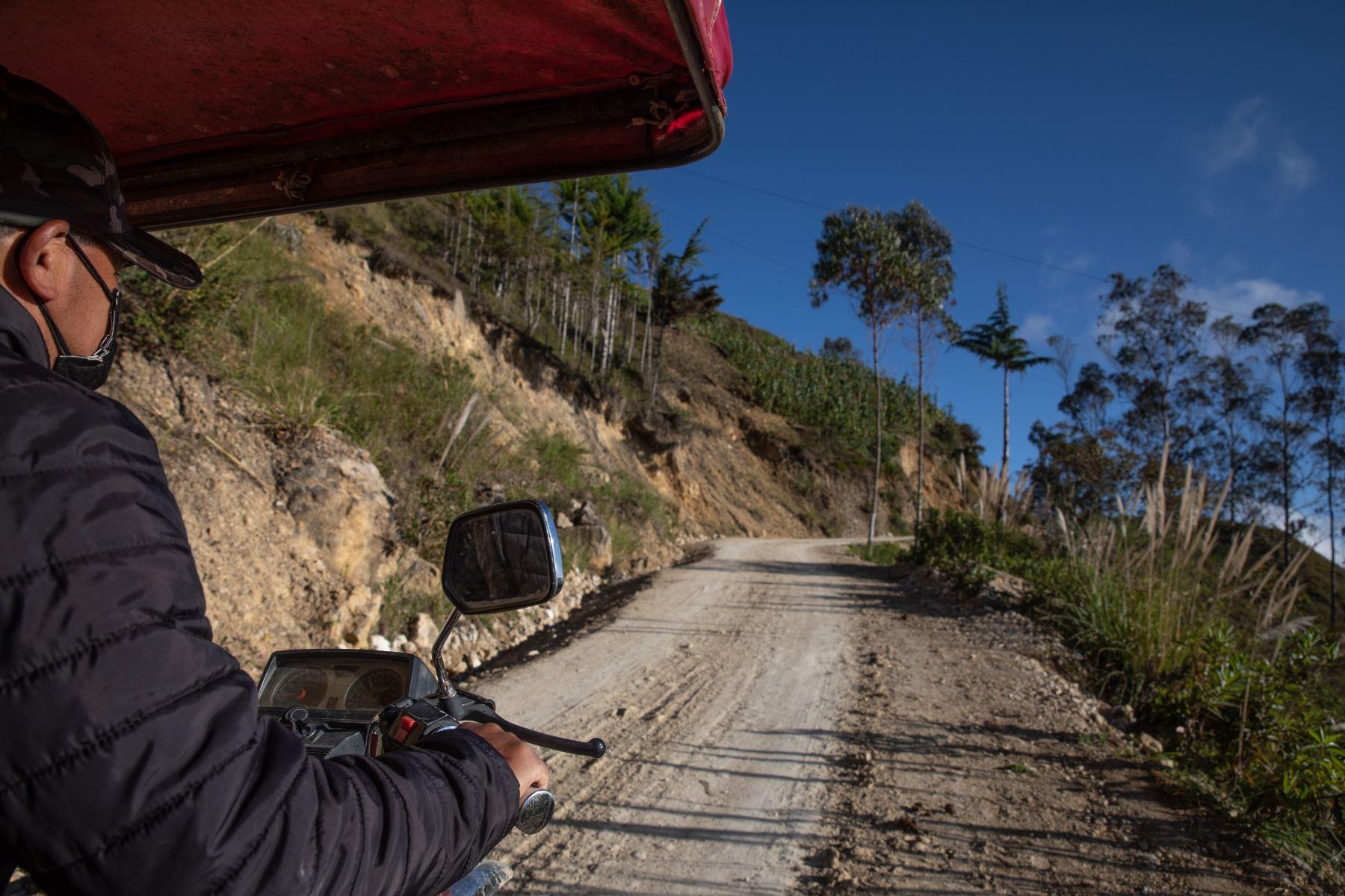 Recorrido por la localidad de Puña, distrito de Tacabamba, en Cajamarca. Foto: ANDINA/Andrés Valle