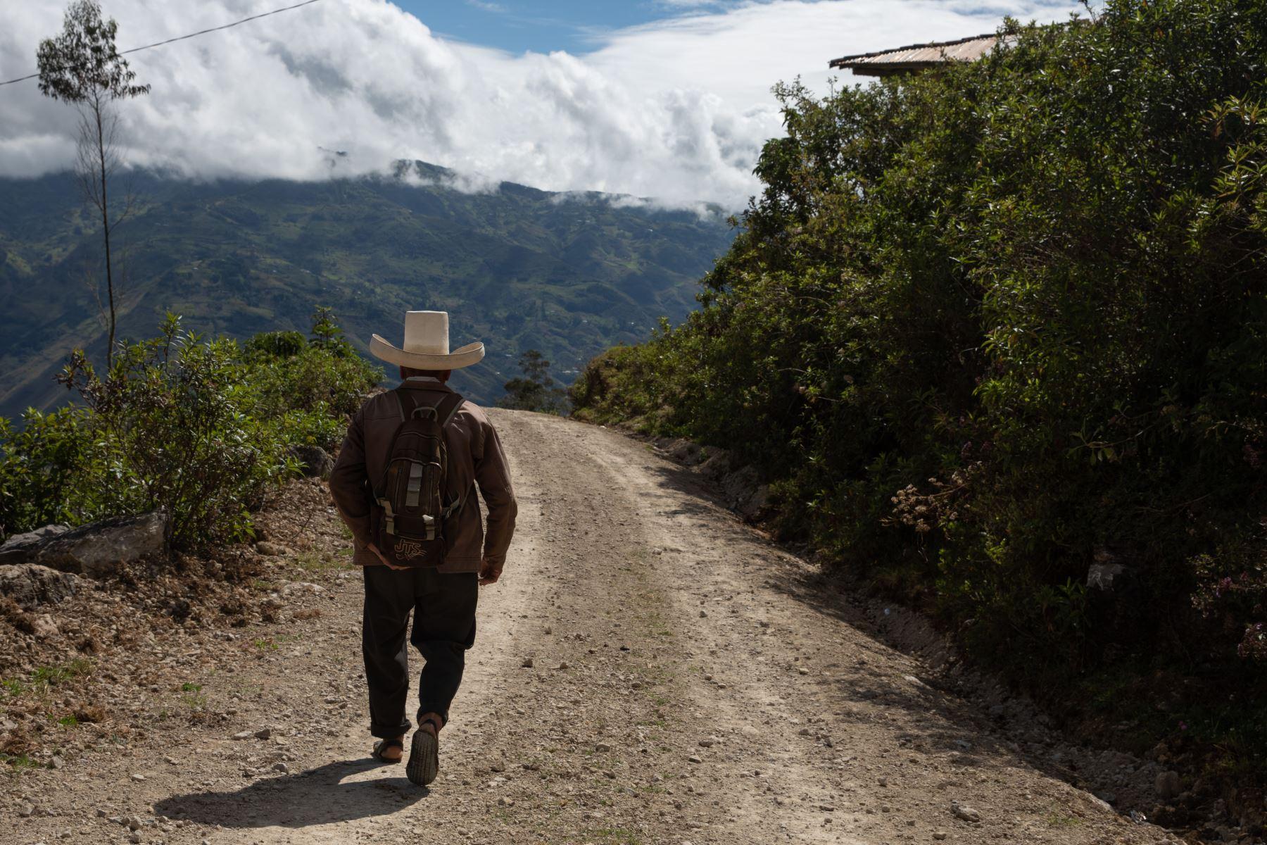 Recorrido por la localidad de Puña, distrito de Tacabamba, en Cajamarca. Su población se dedica principalmente a la actividad agrícola y tiene necesidades básicas que esperan ser satisfechas. Foto: ANDINA/Andrés Valle
