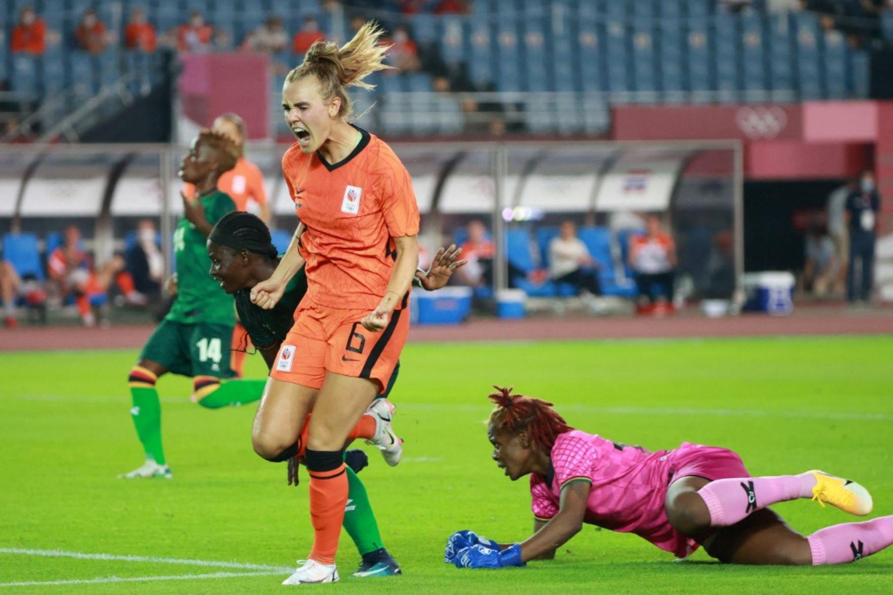 Tokio 2020: Holanda logra una goleada histórica (10-3) ante Zambia en su estreno