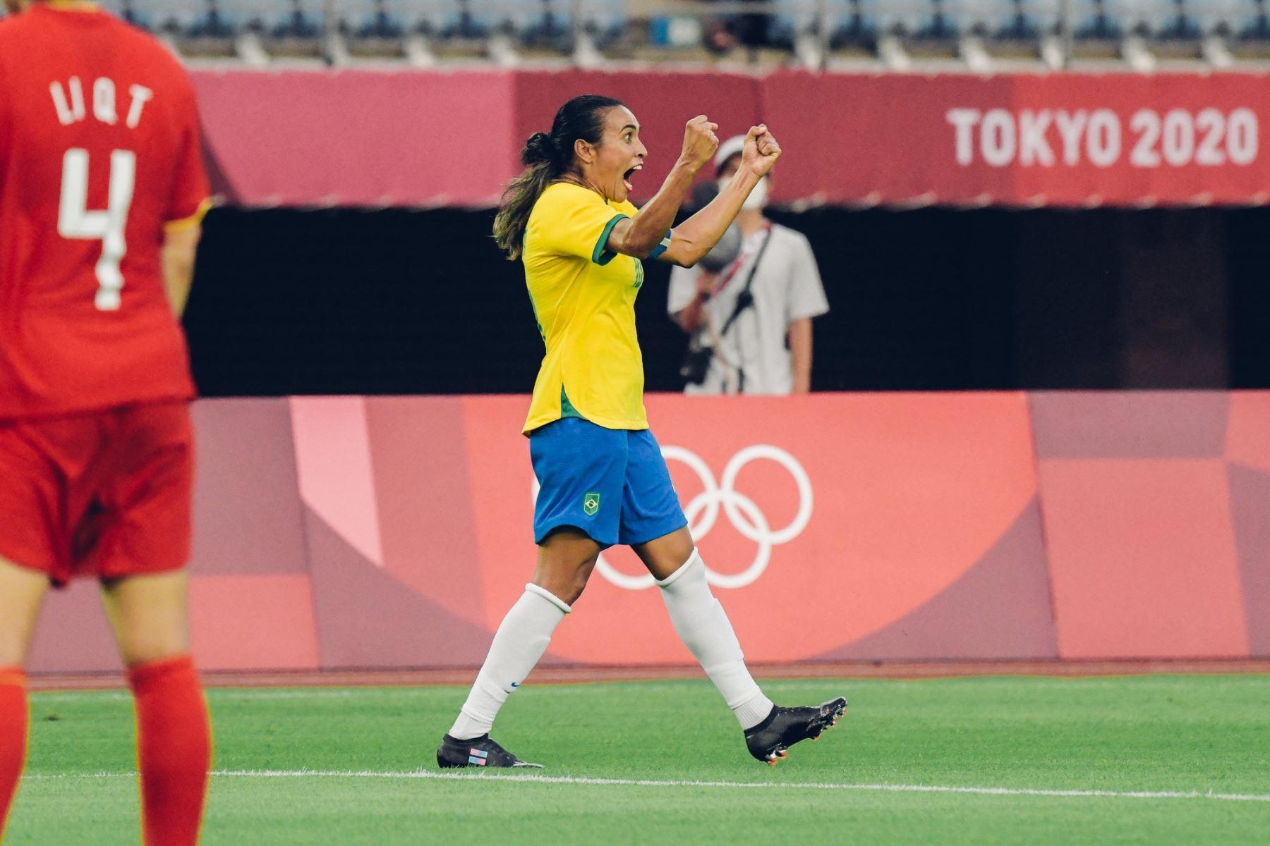 Marta Vieira es una de las estrellas que comenzaron a iluminar el firmamento de los Juegos Olímpicos