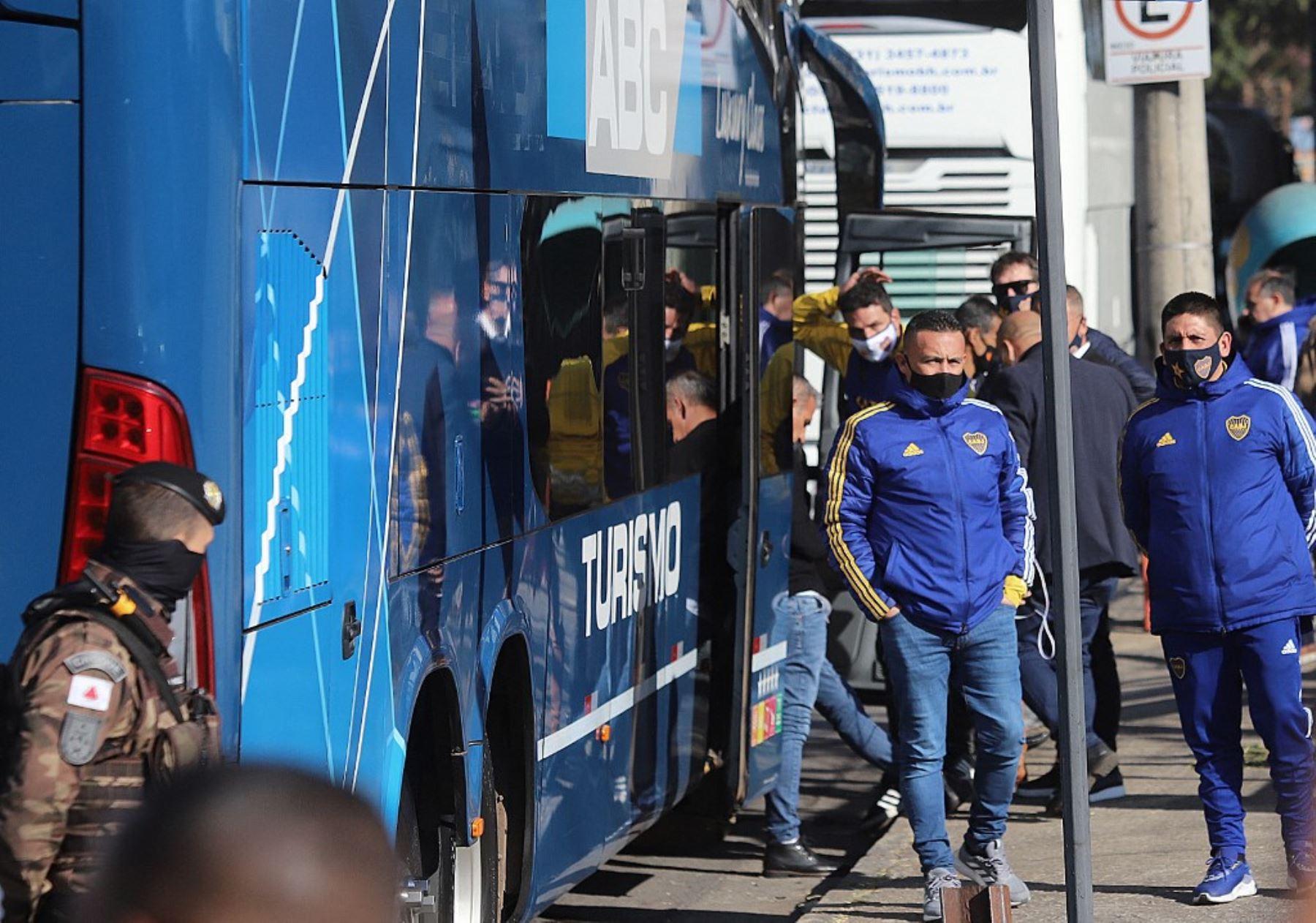 Boca Juniors salió de la comisaría de Belo Horizonte