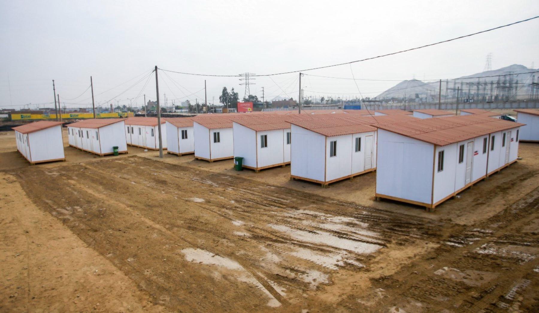 Ministerio de Vivienda entrega 113 módulos temporales a familias damnificadas por lluvias