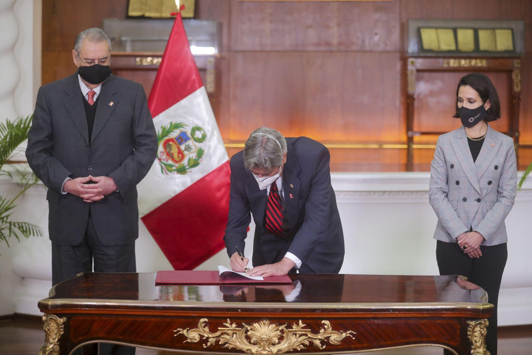 Photo: ANDINA/Presidency of the Republic of Peru